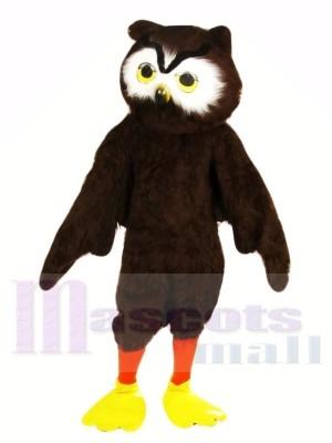Cute Brown Owl Mascot Costumes