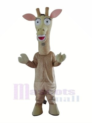 Cute Giraffe Mascot Costumes Cartoon
