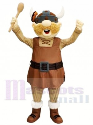 Funny Viking Mascot Costume