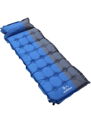 Outdoor Inflatable Cushion Widen Thicken Single Person Pad Sleeping Bed