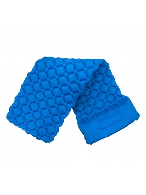 Outdoor Inflatable Mat TPU with Pillow Bed for Camping Beach Sleeping