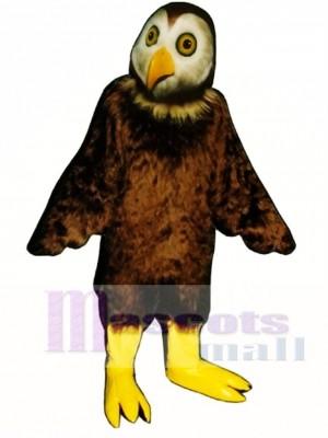 Cute Barn Owl Mascot Costume