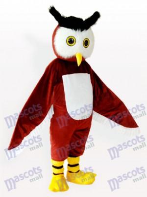 Brown Owl Animal Adult Mascot Costume