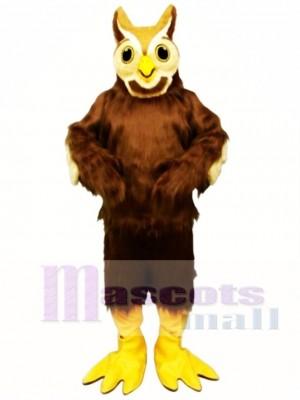Cute Ollie Owl Mascot Costume