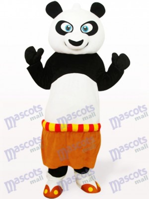 Black And White Kung Fu Panda Animal Mascot Costume