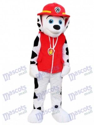 Paw Patrol Marshall Dog Dalmatian Mascot Costume Cartoon Anime