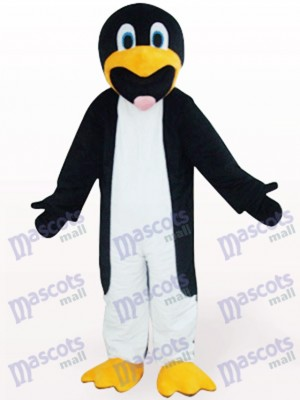 Black And White Slim Penguin Animal Mascot Costume
