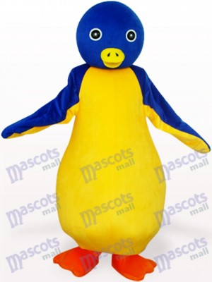 Yellow And Blue Pot-Bellied Penguin Animal Mascot Costume