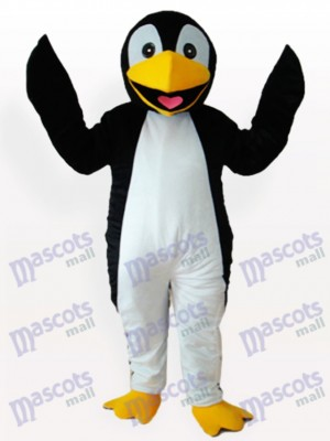 Black Penguin Adult Mascot Funny Costume