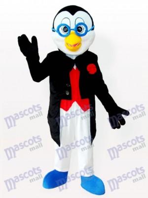 Doctor Penguin in Tuxedo Adult Mascot Costume
