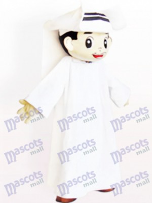 Arab Man Cartoon Adult Mascot Costume