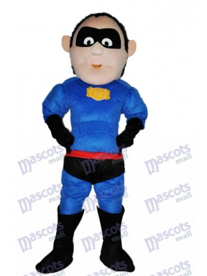 Superman Adult Mascot Costume Cartoon People