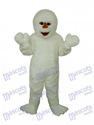 Himalaya Snowman Mascot Adult Costume Cartoon People