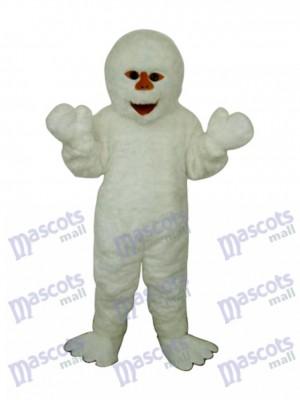 Himalaya Snowman Mascot Adult Costume Cartoon People