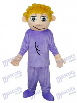 Cried Brother Mascot Adult Costume Cartoon People