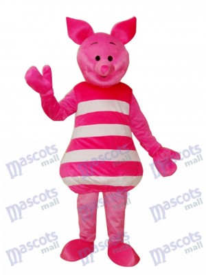 Little Pink Pig Mascot Adult Costume Animal