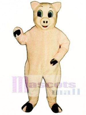 Jolly Pig Christmas Mascot Costume Animal