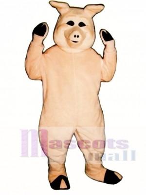 Cute Pierre Pig Mascot Costume Animal