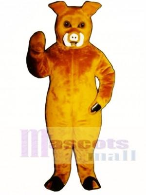 Boar Pig Hog Mascot Costume Animal