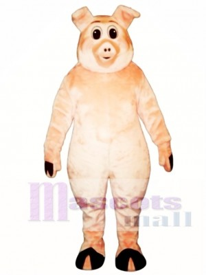 Cute Porker Pig Piglet Hog Mascot Costume Animal