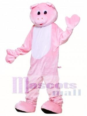Deluxe Pig Mascot Costume Animal