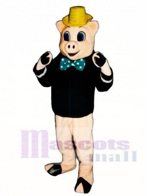 Wood Pig Mascot Costume Animal