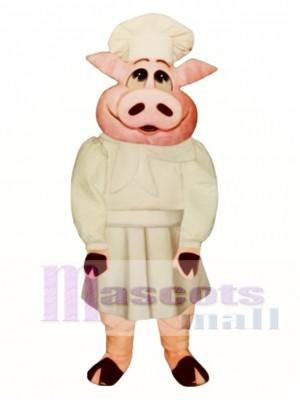 Baker Bacon Hog Mascot Costume Animal