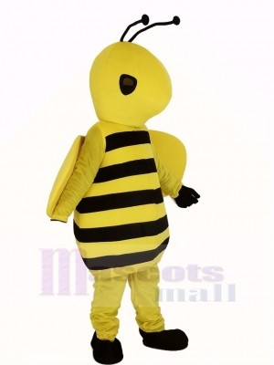 Cute Yellow Bee Mascot Costume
