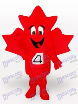 Maple Leaf Plant Adult Mascot Costume