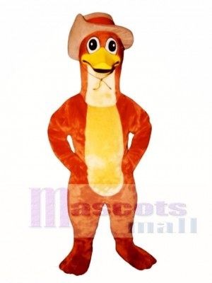 Perry Platypus Duckbill with Hat Mascot Costume