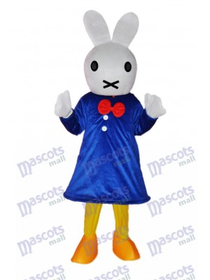 Easter Clever Rabbit Mascot Adult Costume Animal