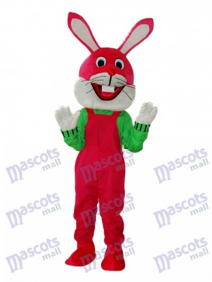 Easter Etiquette Rabbit Mascot Adult Costume Animal