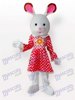 Easter Rabbit Animal Adult Mascot Costume