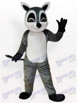 Raccoon Animal Adult Mascot Funny Costume