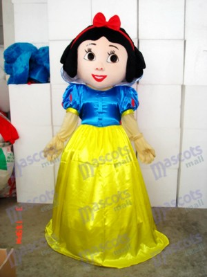 Snow White Mascot Costume Cartoon Anime