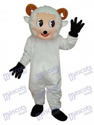 Little Sheep Mascot Adult Costume Animal