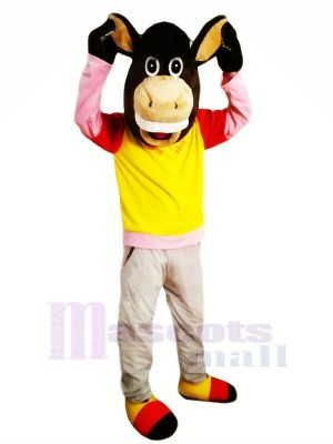 New Donkey Mascot Costumes Cartoon