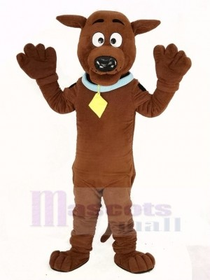 SCOOBY Dog Mascot Costume Animal