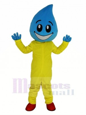 Water Drop Superman Mascot Costume