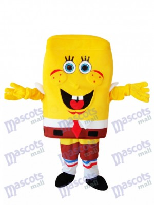 Big Nose SpongeBob Adult Mascot Costume Cartoon Anime
