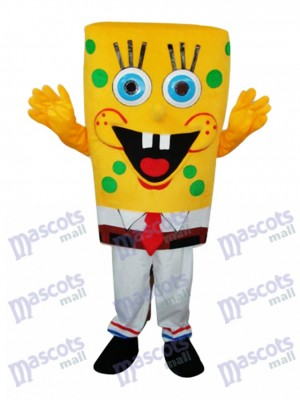 SpongeBob Mascot Adult Costume Cartoon Anime