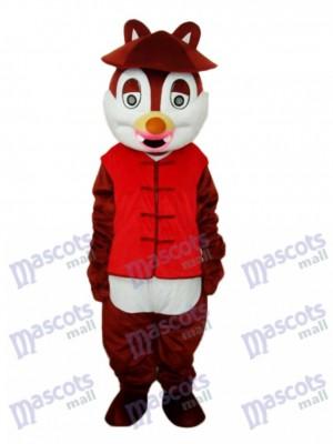 Hat Squirrel Mascot Adult Costume Animal