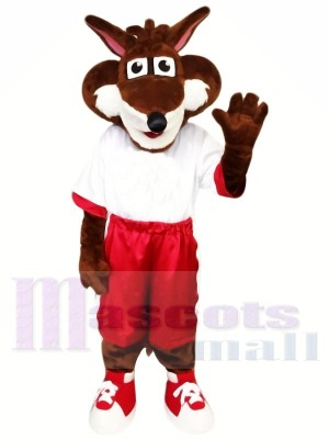 Fox with Big Eyes Mascot Costumes Animal