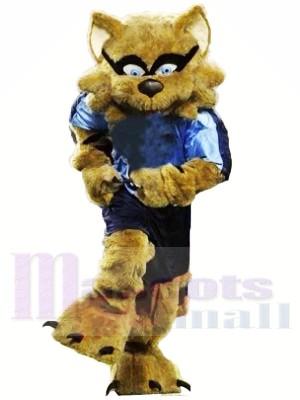 Strong Brown Raccoon Mascot Costumes Animal