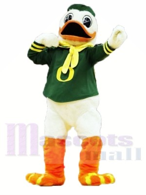 College Duck Mascot Costumes