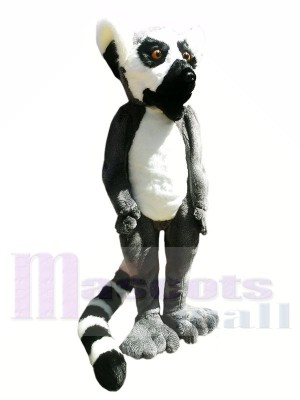 High Quality Furry Lemur Mascot Costumes