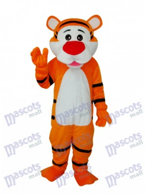Good Tiger Adult Mascot Costume Animal
