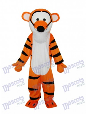 Strange Mouth Tigger Mascot Adult Costume Animal