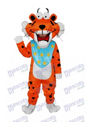 Spotted Funny Tiger Adult Mascot Costume Animal