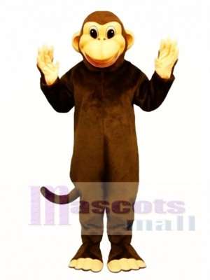 Cute Mischevious Monkey Mascot Costume Animal